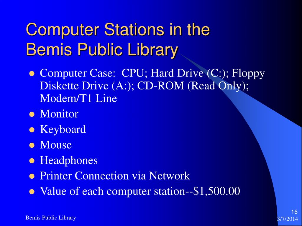 Computer Stations in the