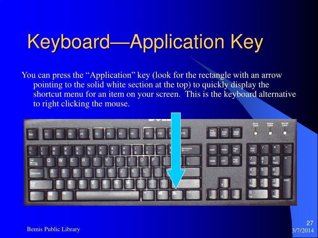 Keyboard—Application Key