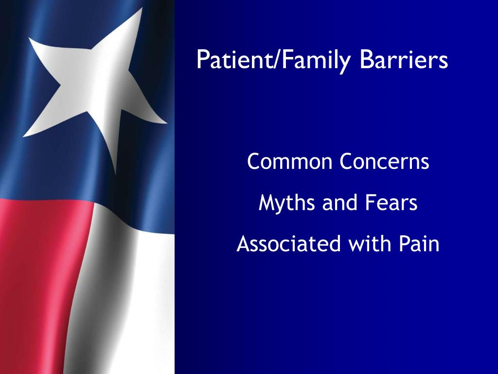 Patient/Family Barriers