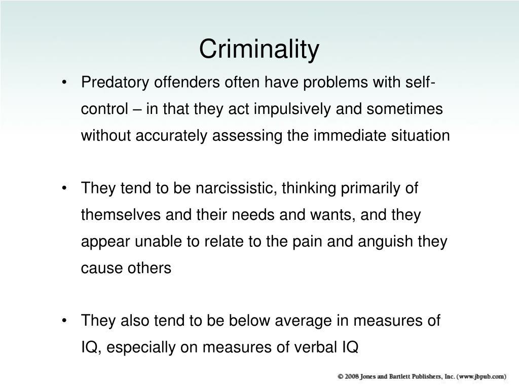 Criminality