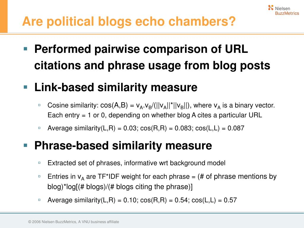 Are political blogs echo chambers?