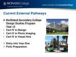 current external pathways3
