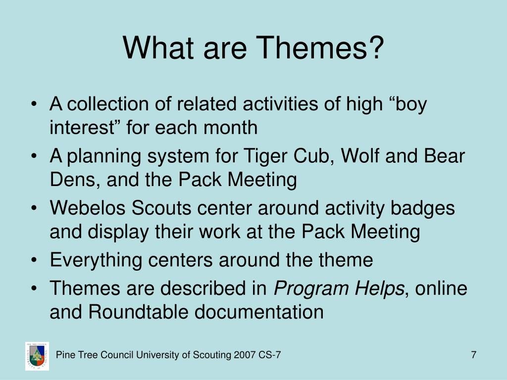 What are Themes?