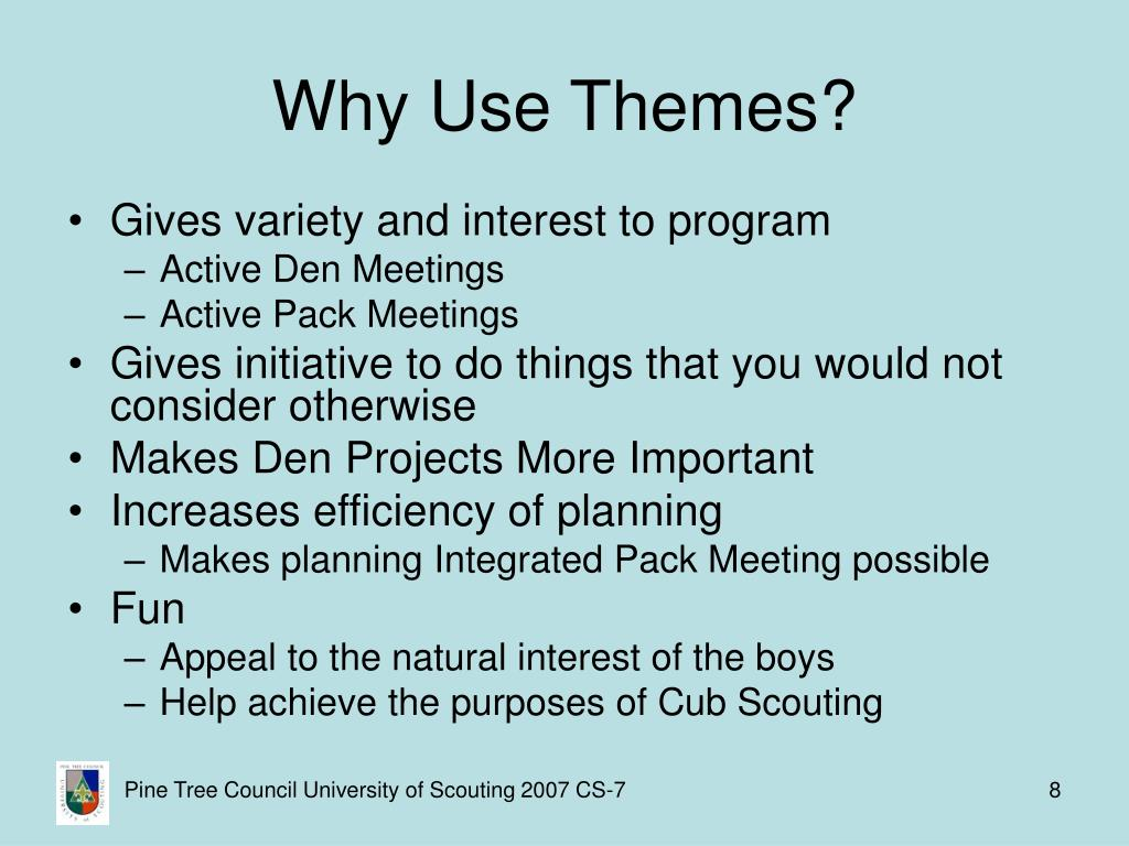 Why Use Themes?