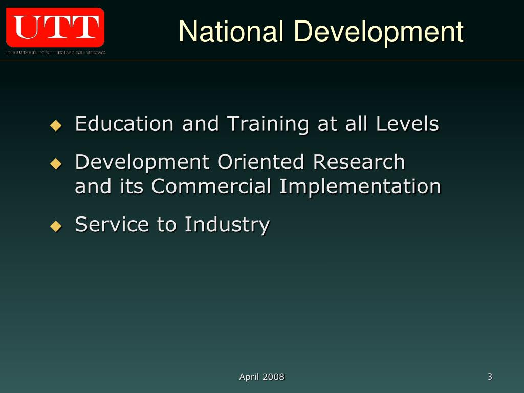 National Development