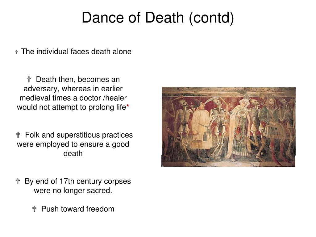 Dance of Death (contd)