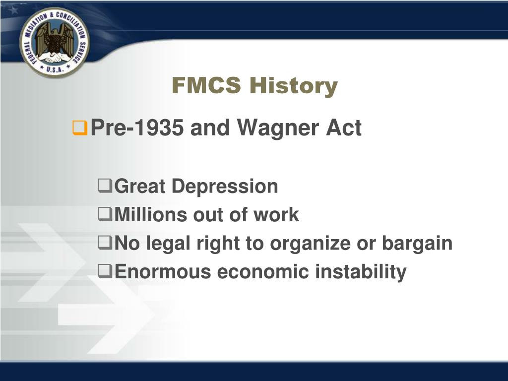 FMCS History