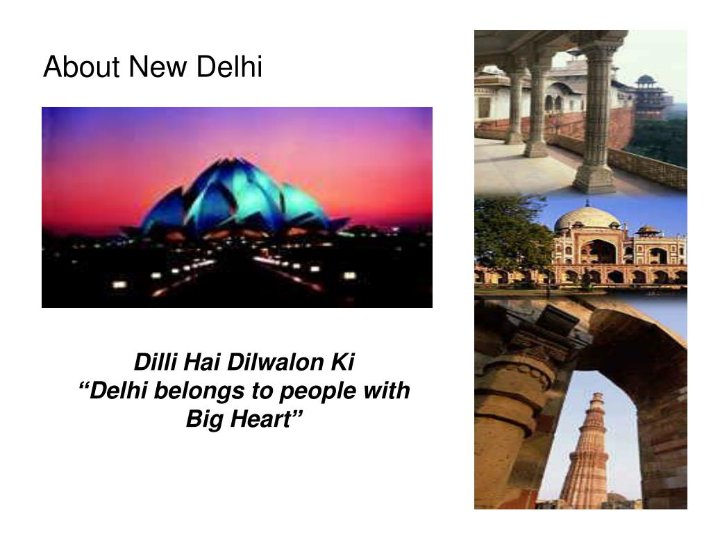 About New Delhi