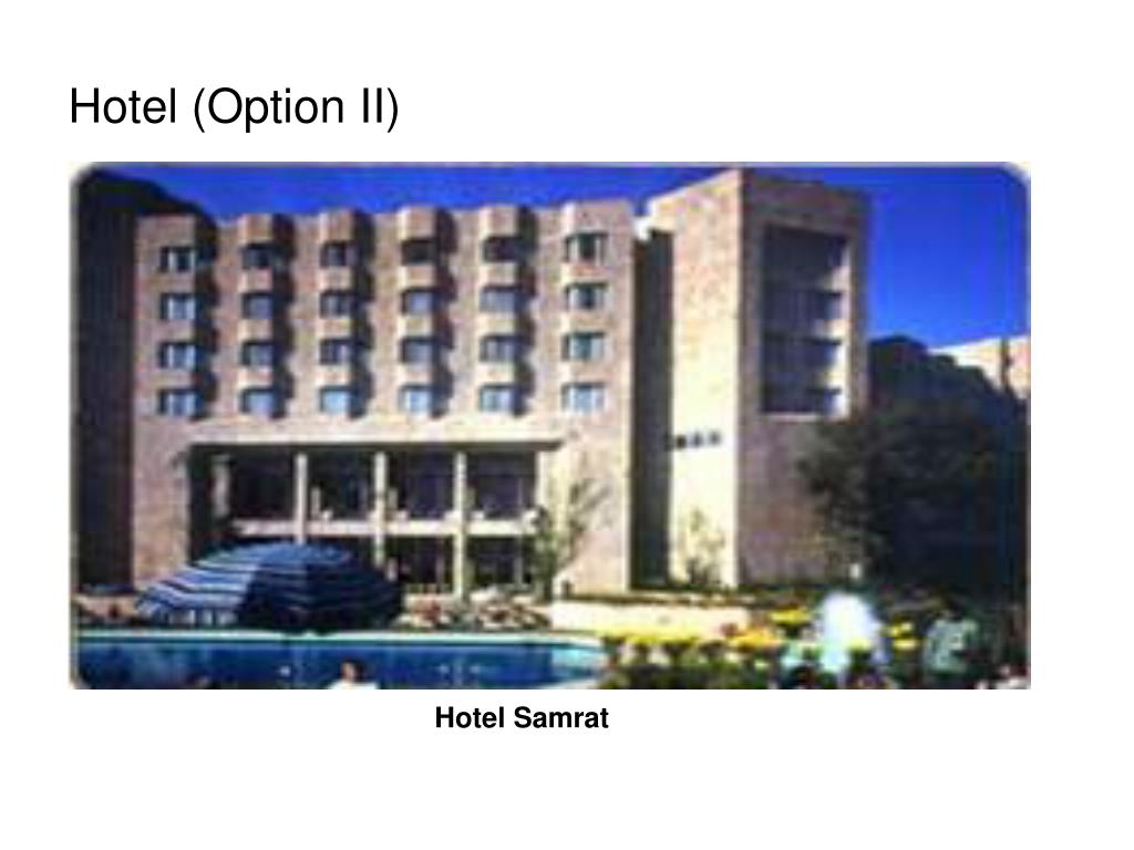Hotel (Option II)