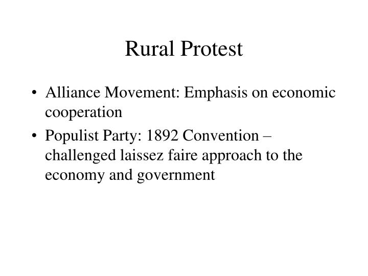 Rural Protest