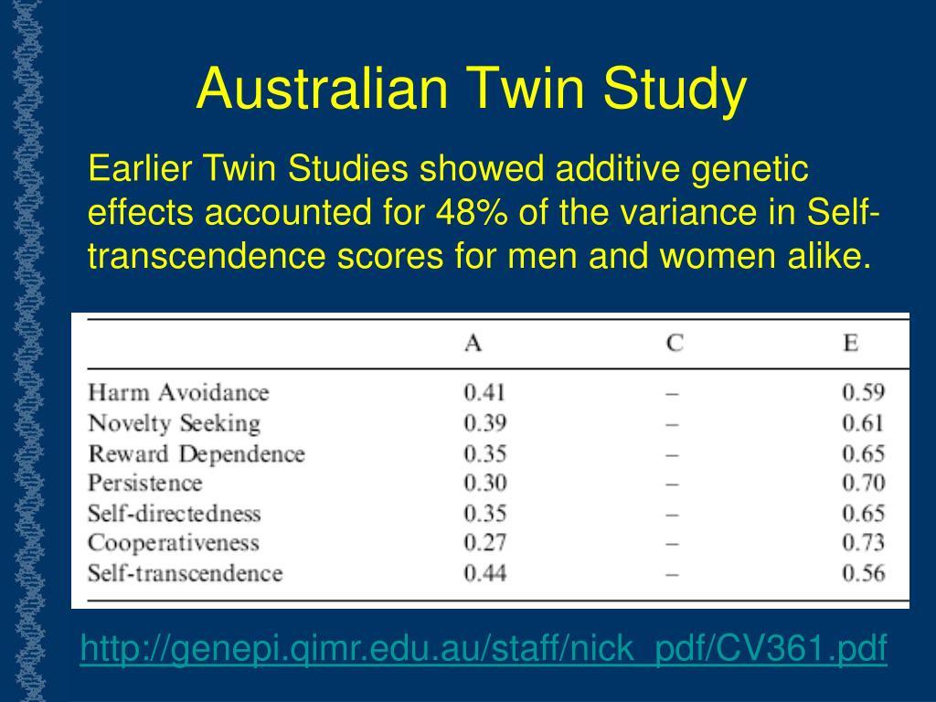 Australian Twin Study