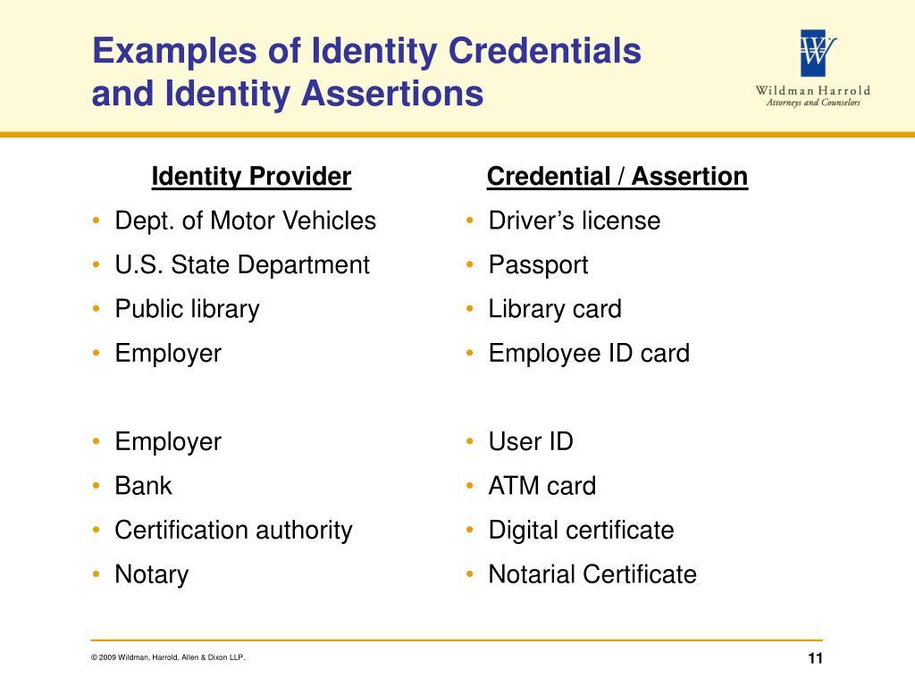 Identity Provider