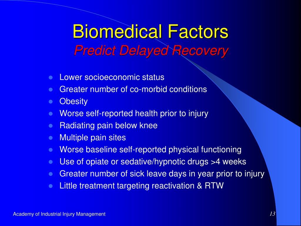 Biomedical Factors