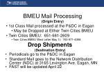 drop shipments destination entry