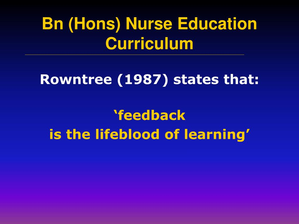 Rowntree (1987) states that: