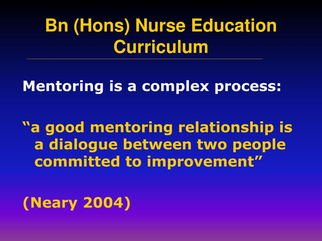 Mentoring is a complex process: