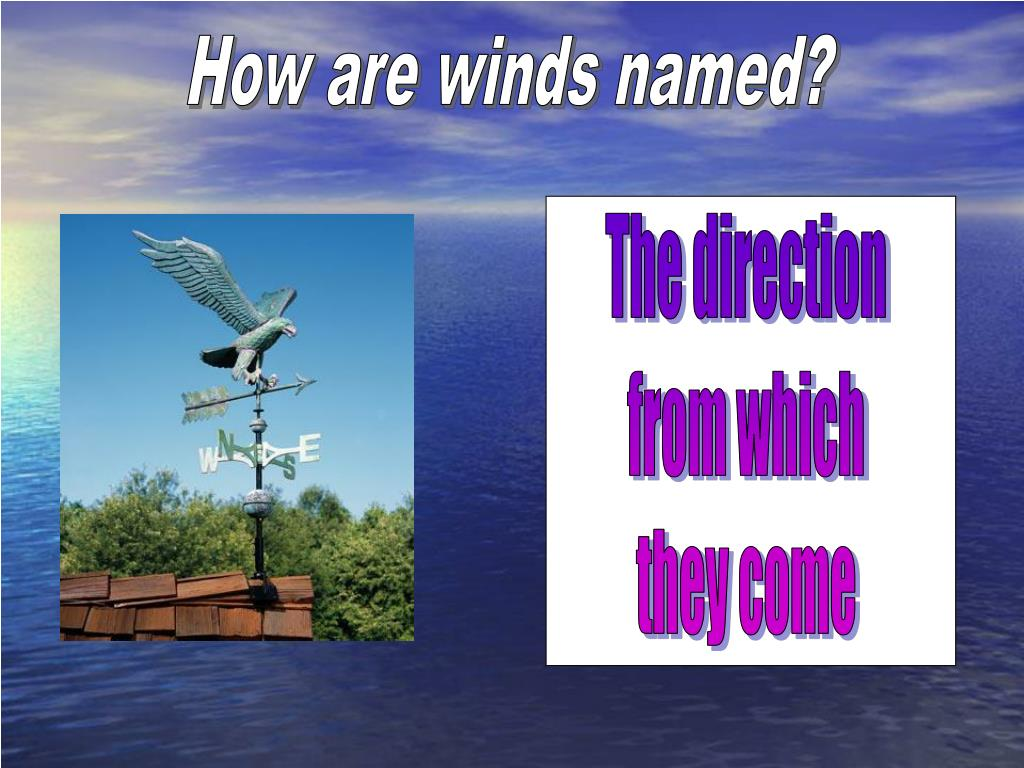 How are winds named?