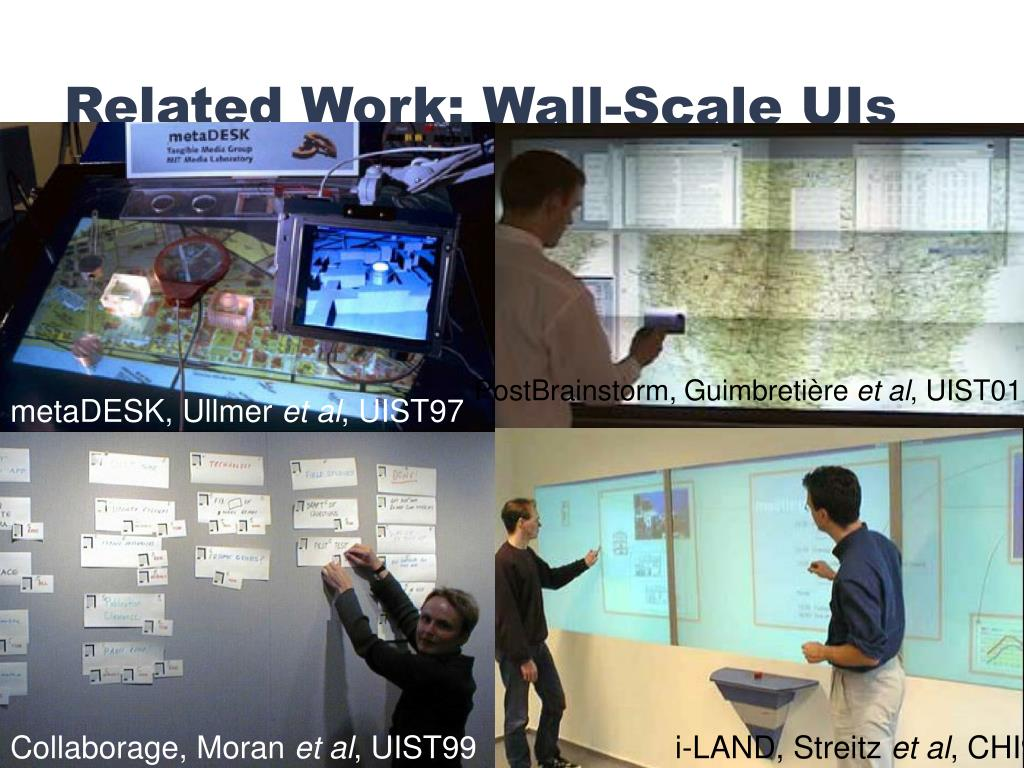 Related Work: Wall-Scale UIs