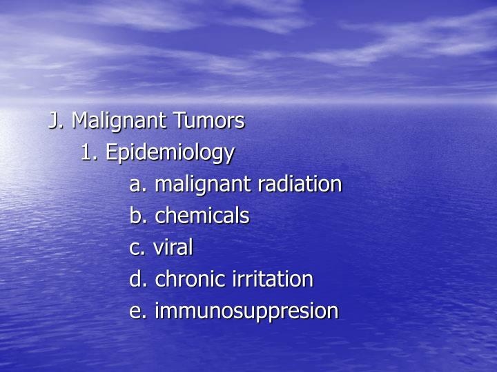 J. Malignant Tumors