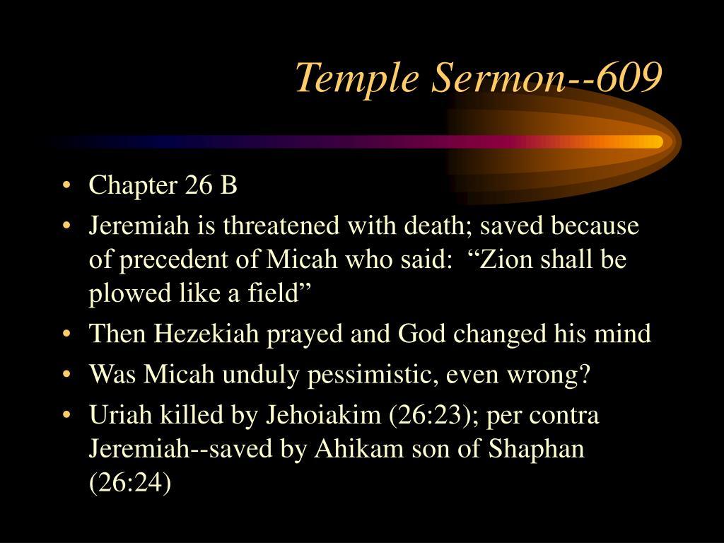 Temple Sermon--609