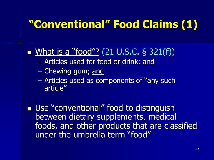 Definition Of Natural Foods Fda