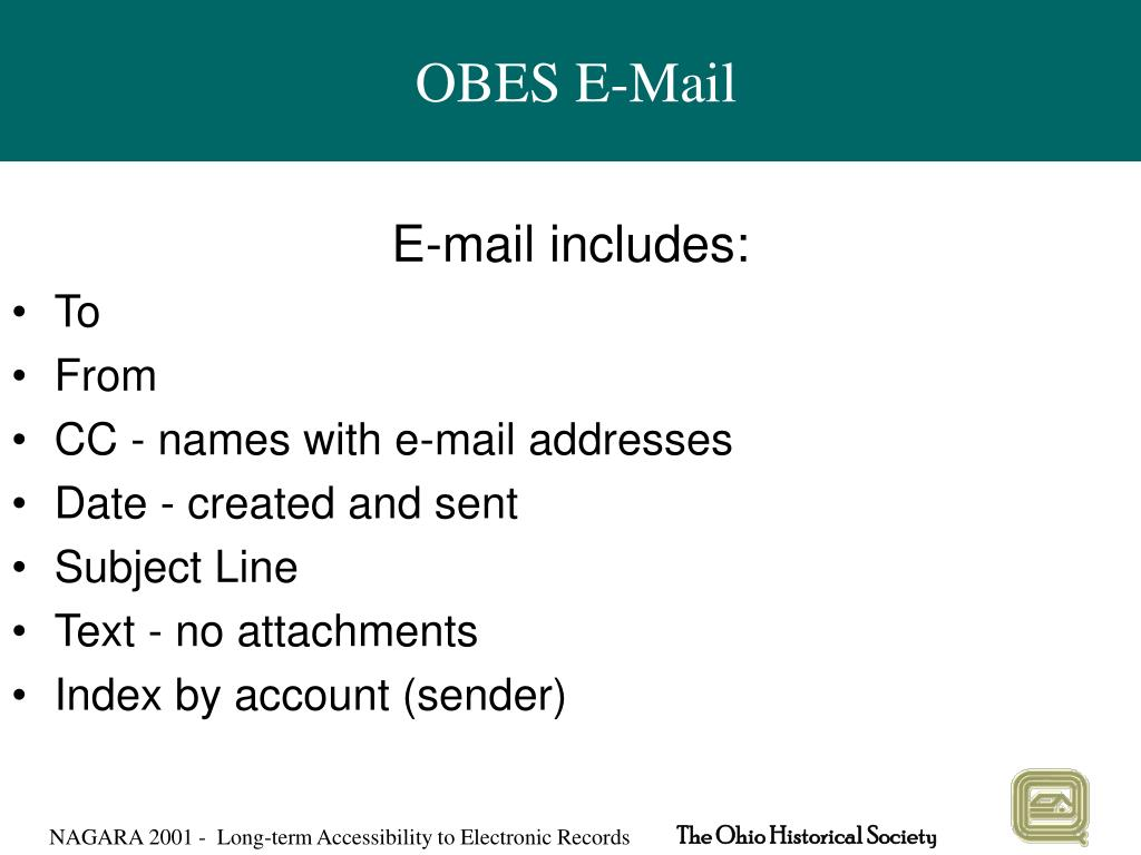 OBES E-Mail
