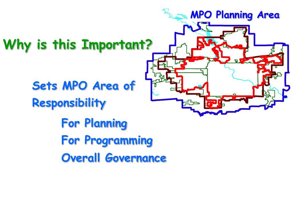 MPO Planning Area