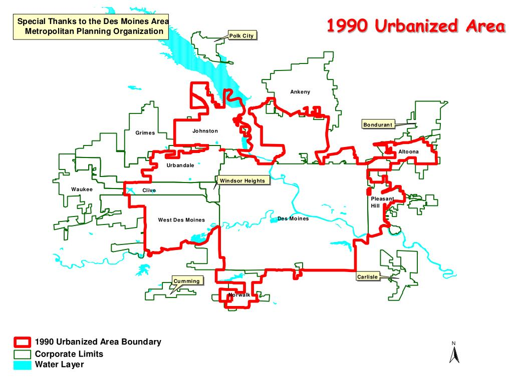 1990 Urbanized Area
