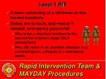 rapid intervention team mayday procedures10
