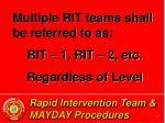 rapid intervention team mayday procedures12