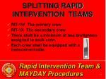 rapid intervention team mayday procedures13