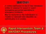rapid intervention team mayday procedures14