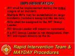 rapid intervention team mayday procedures20