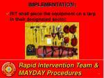 rapid intervention team mayday procedures22