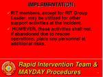 rapid intervention team mayday procedures24