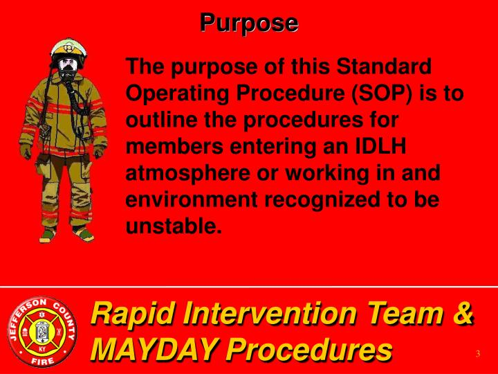 Rapid intervention team mayday procedures3