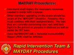 rapid intervention team mayday procedures32