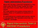 rapid intervention team mayday procedures37