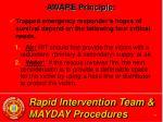 rapid intervention team mayday procedures38