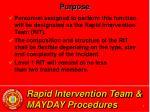 rapid intervention team mayday procedures4