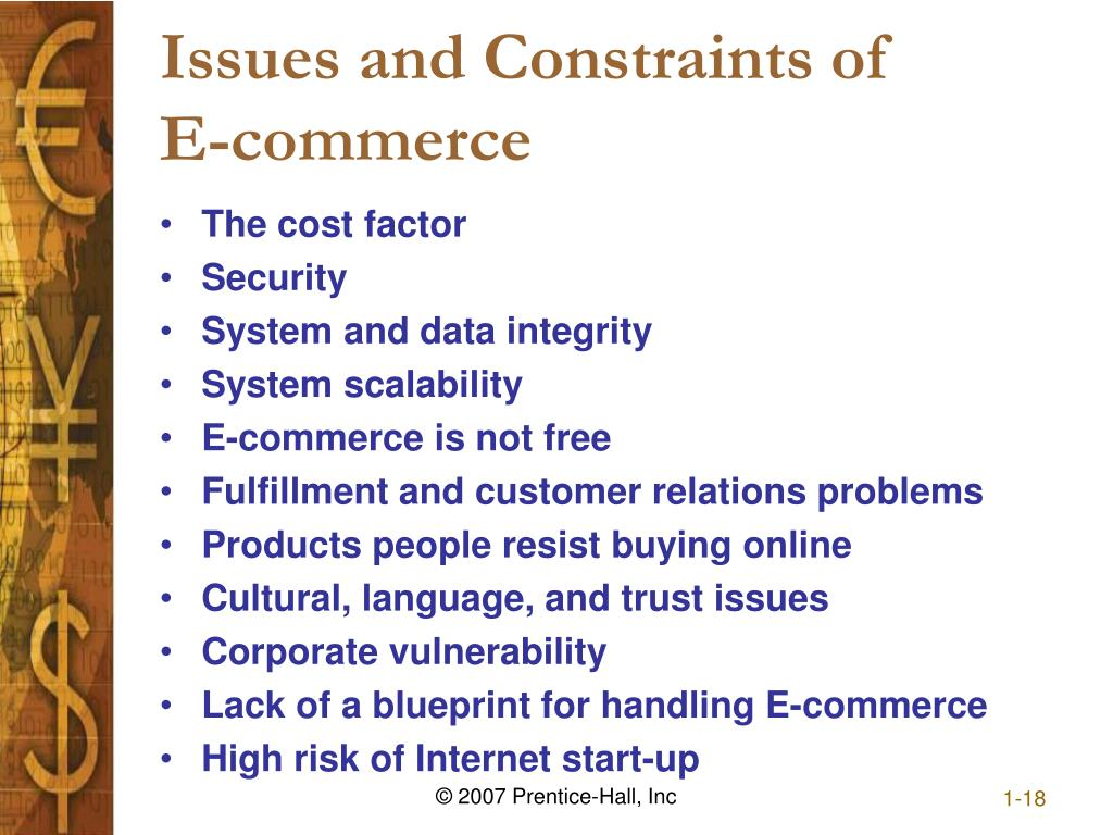 Issues and Constraints of
