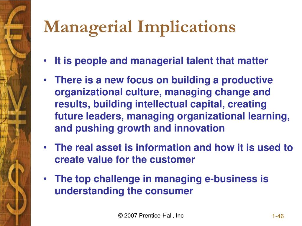 Managerial Implications