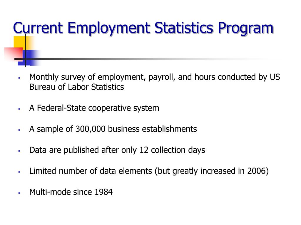 Current Employment Statistics Program