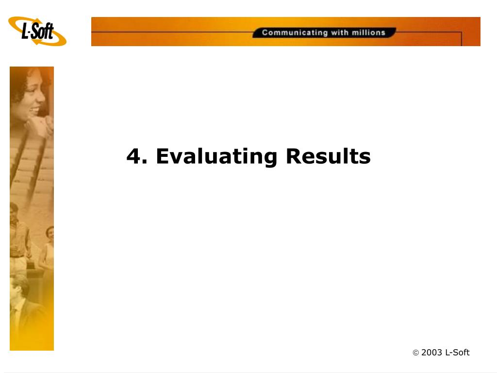 4. Evaluating Results