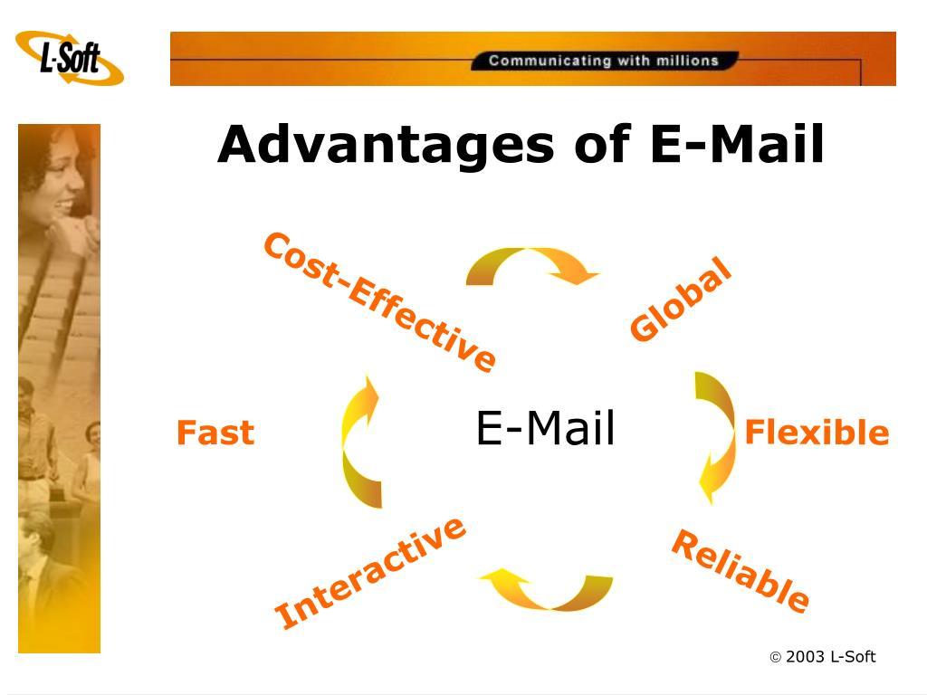 Advantages of E-Mail