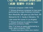 chpt 16 william grant still