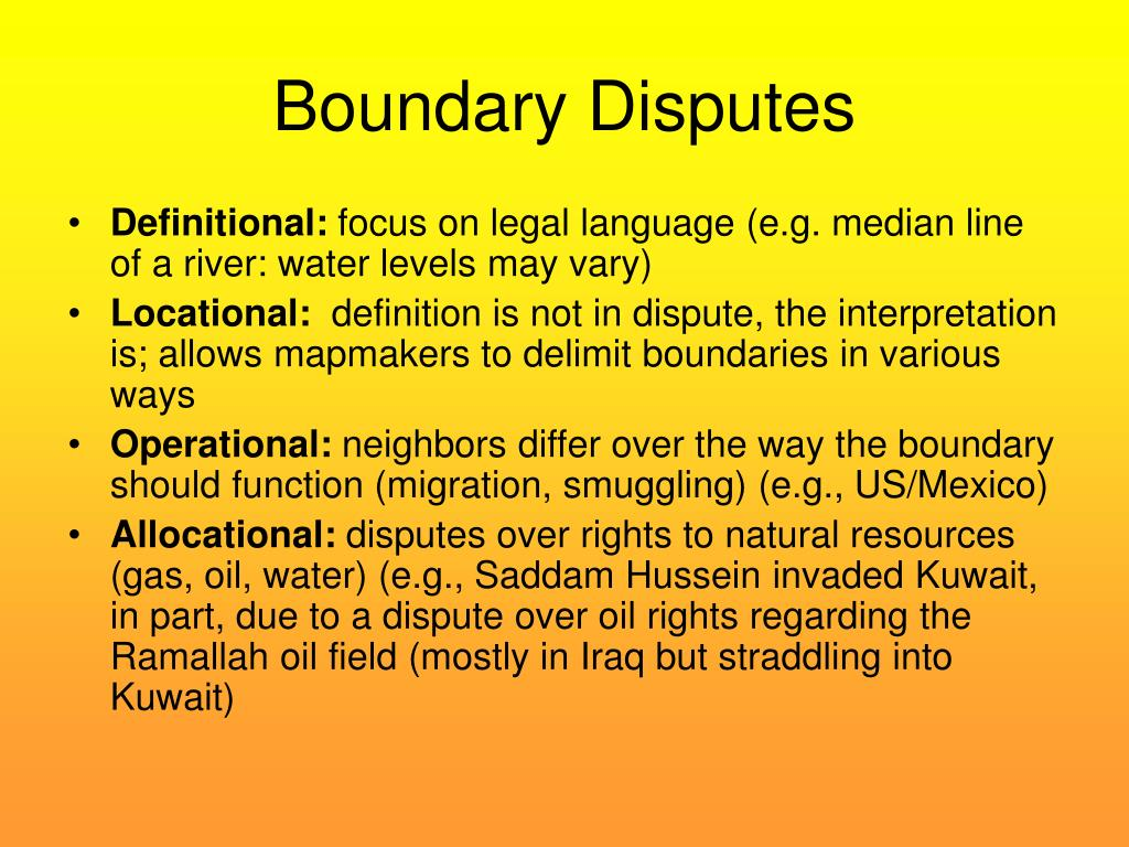 the boundary fence dispute essay It is beneficial to know what your rights and obligations are regarding neighbourly  disputes over boundary fences before approaching them.