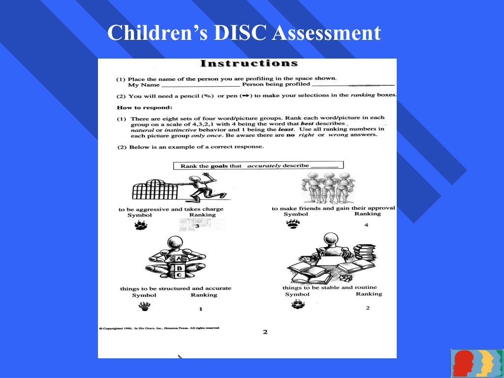 Children's DISC Assessment