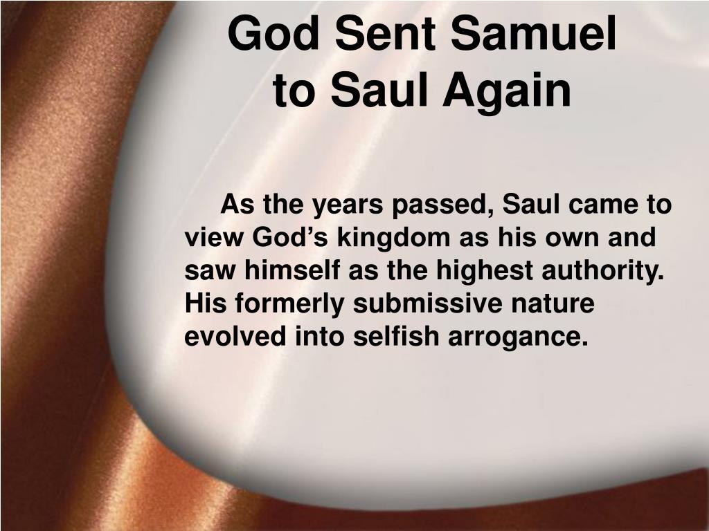 God Sent Samuel
