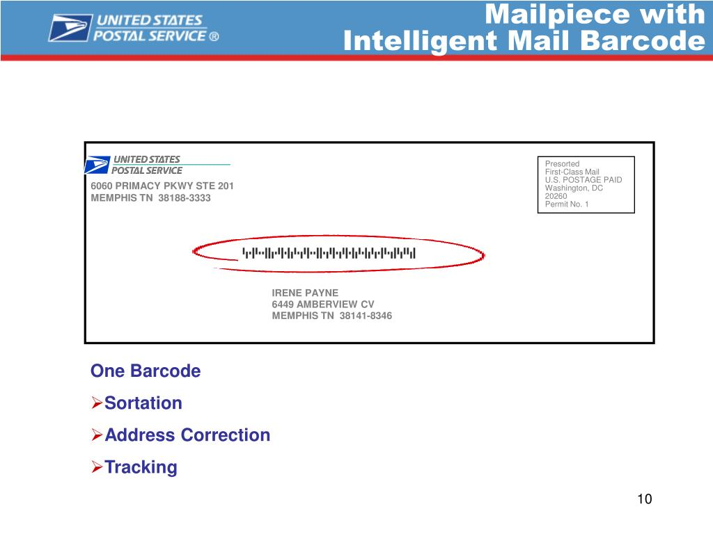 Mailpiece with